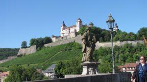 Blick auf die Festung Marienberg